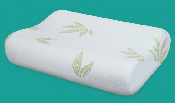 Ортопедическая подушка с валиком под шею