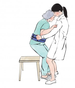 перемещение больного