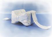 Подушка между коленей «Удобный сон» с лузгой гречихи